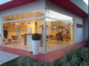 Fotografia do escritório da Rossi Empreendimentos
