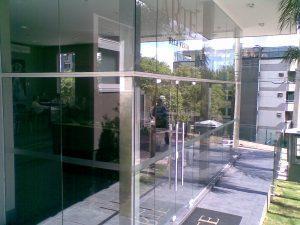 Fotografia da fachada do escritório da Melnick Even