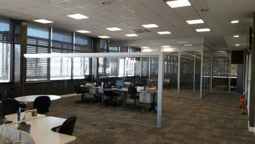 Divisória em vidro escritório