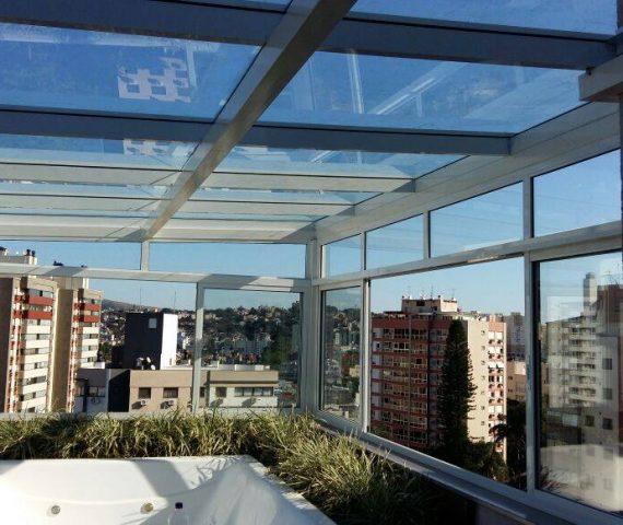 Fechamento de ambientes em vidro por Marcos Nunes Vidros