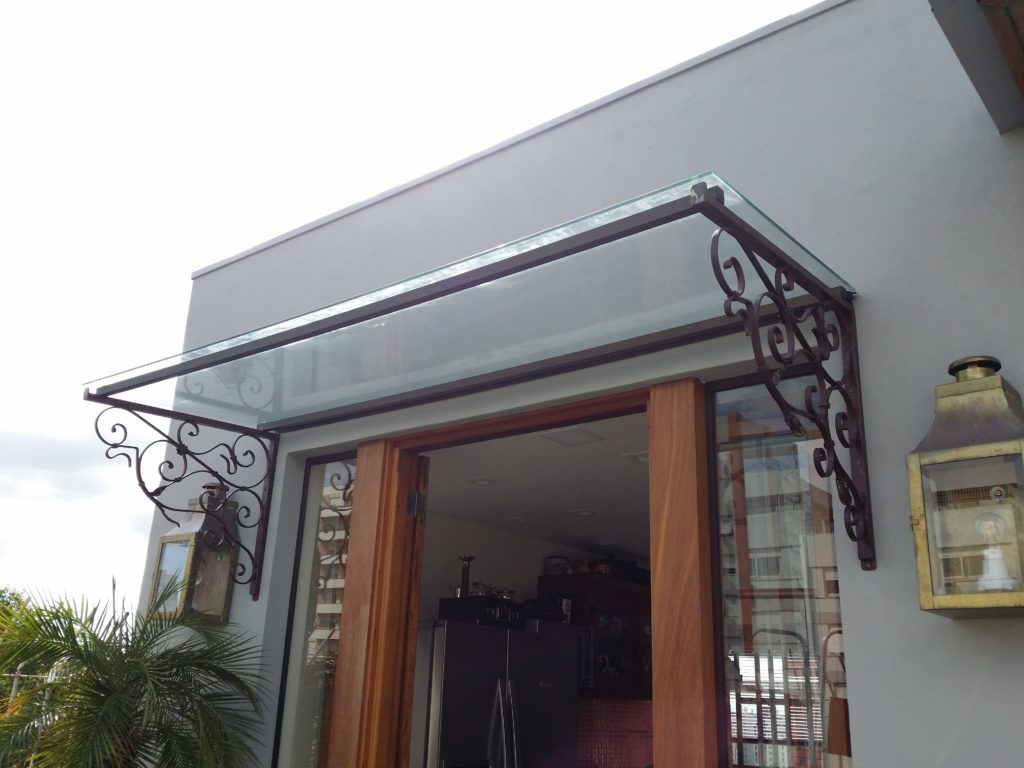 Cobertura em vidro por Marcos Nunes Vidros