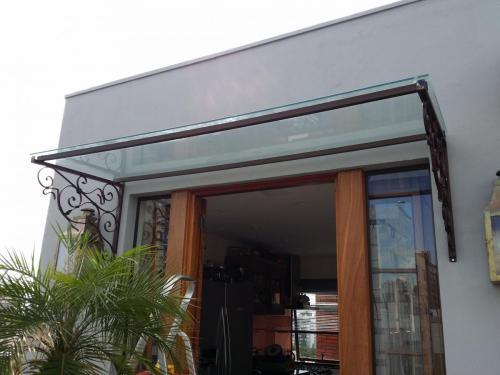 Cobertura em Vidro / Telhado em Vidro